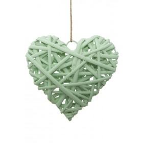 Decorazione Heart Green cm...