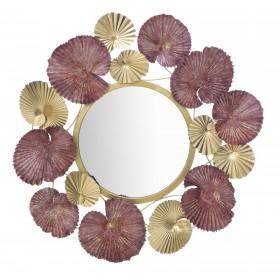 Specchio In Ferro Leaf cm...
